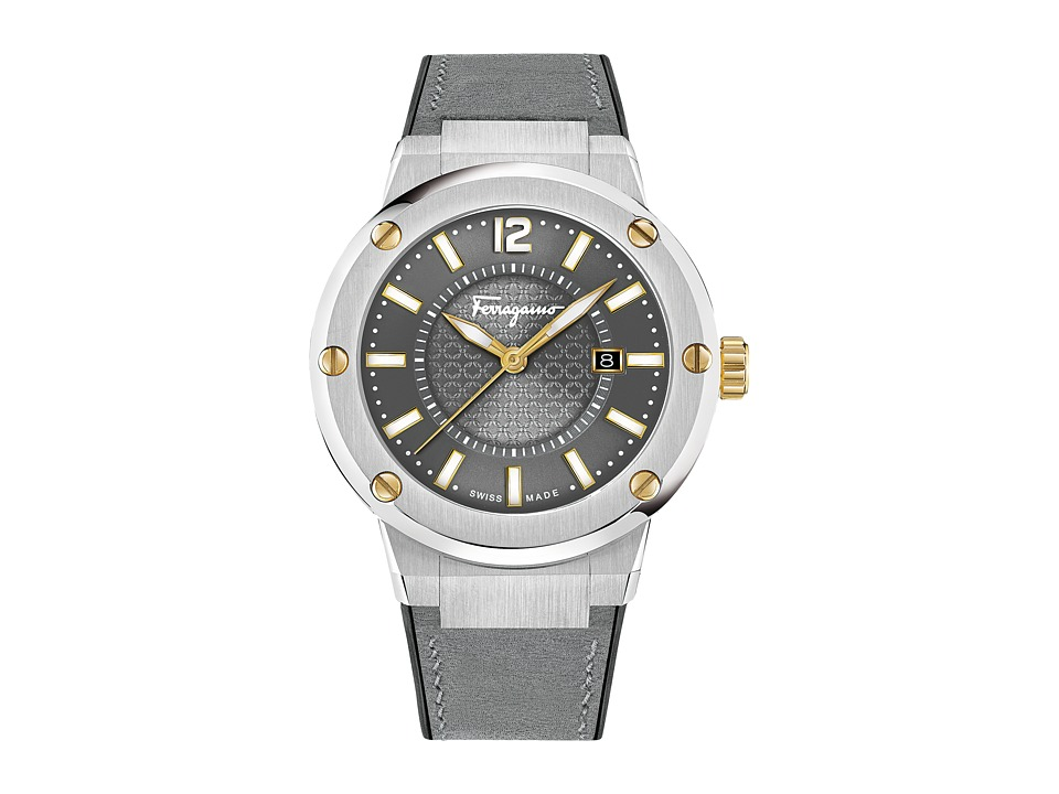 Salvatore Ferragamo - F80 FIF07 0016 (Stainless Steel/Grey) Watches