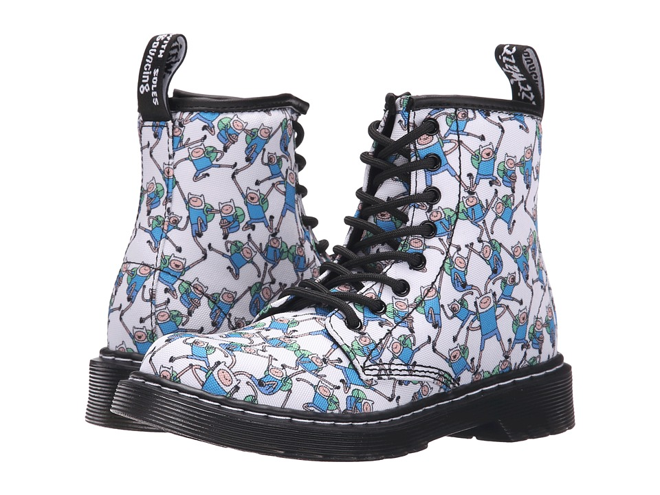 Dr. Martens Kid's Collection - Delaney (Little Kid/Big Kid) (Finn Print) Boys Shoes