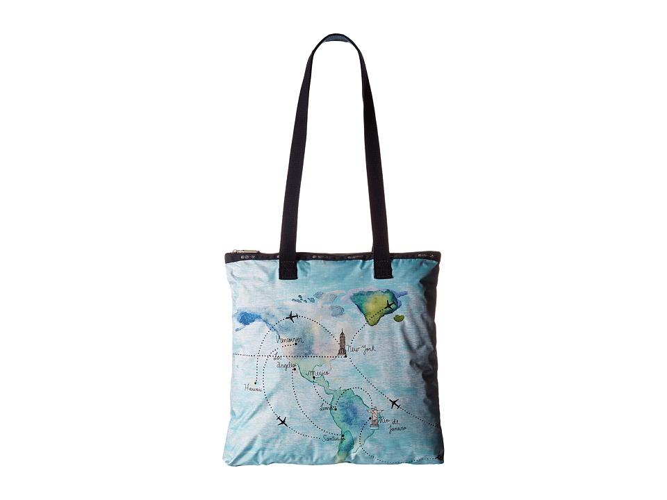 LeSportsac - Artist Tote (Destination) Tote Handbags