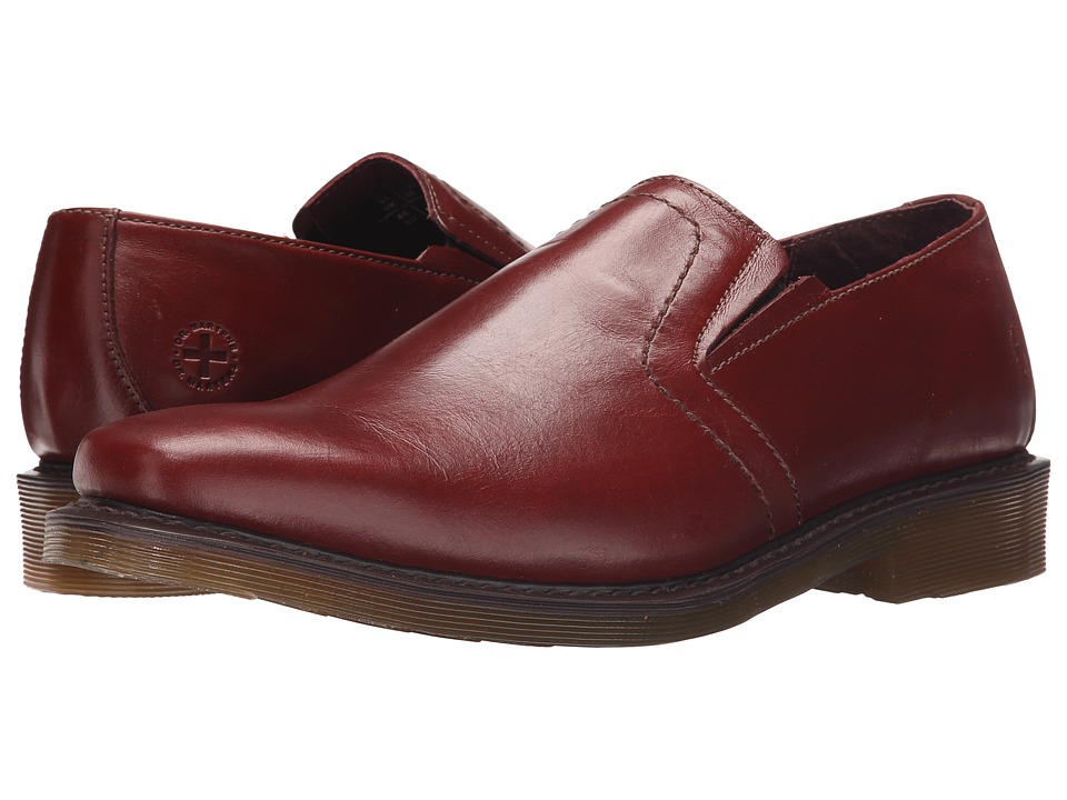 Dr. Martens - Saul (Dark Brown) Men's Shoes