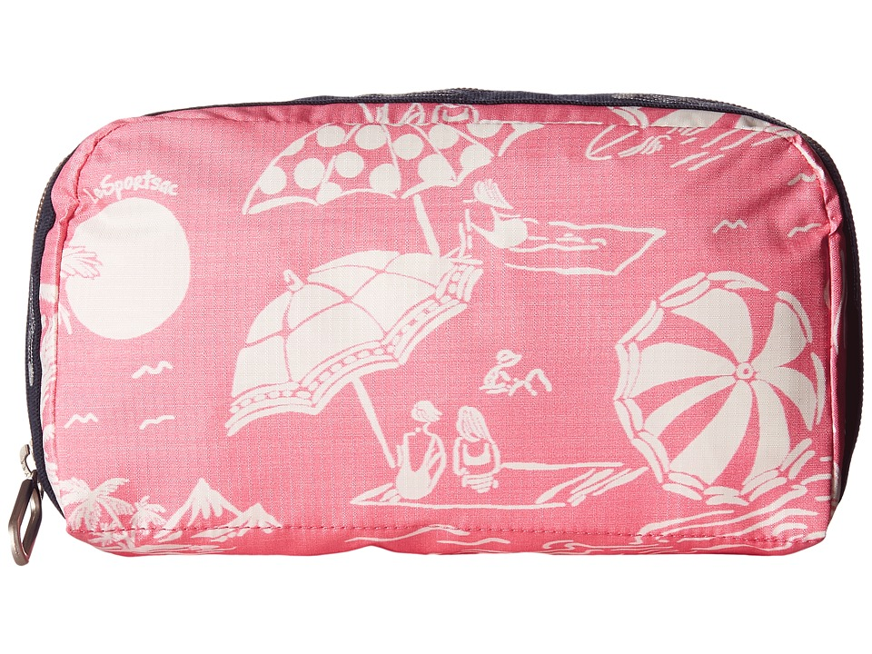 LeSportsac - Essential Cosmetic Case (Hawaiian Getaway Pink) Cosmetic Case