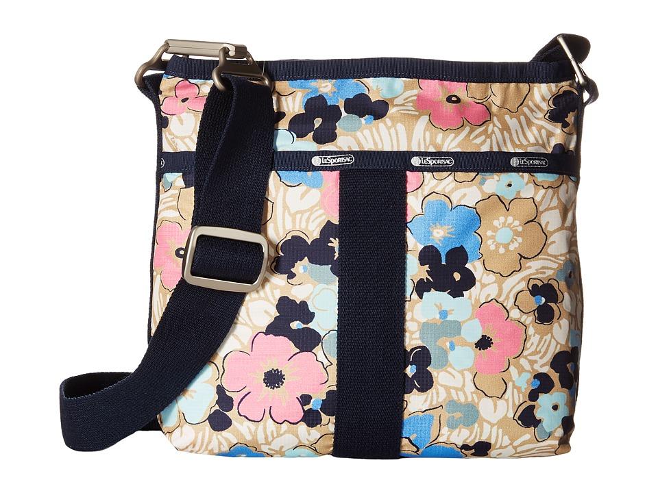 LeSportsac - Essential Crossbody (Ocean Blooms) Cross Body Handbags