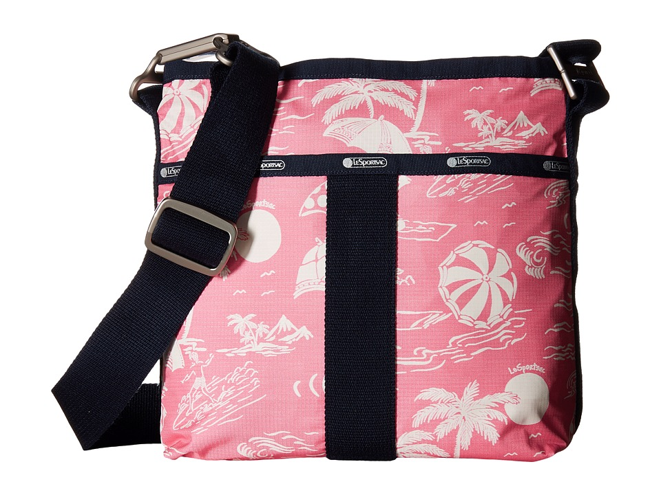 LeSportsac - Essential Crossbody (Hawaiian Getaway Pink) Cross Body Handbags