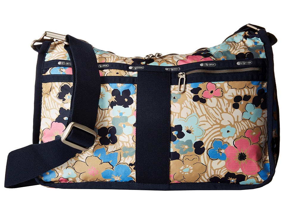 LeSportsac - Everyday Bag (Ocean Blooms) Handbags