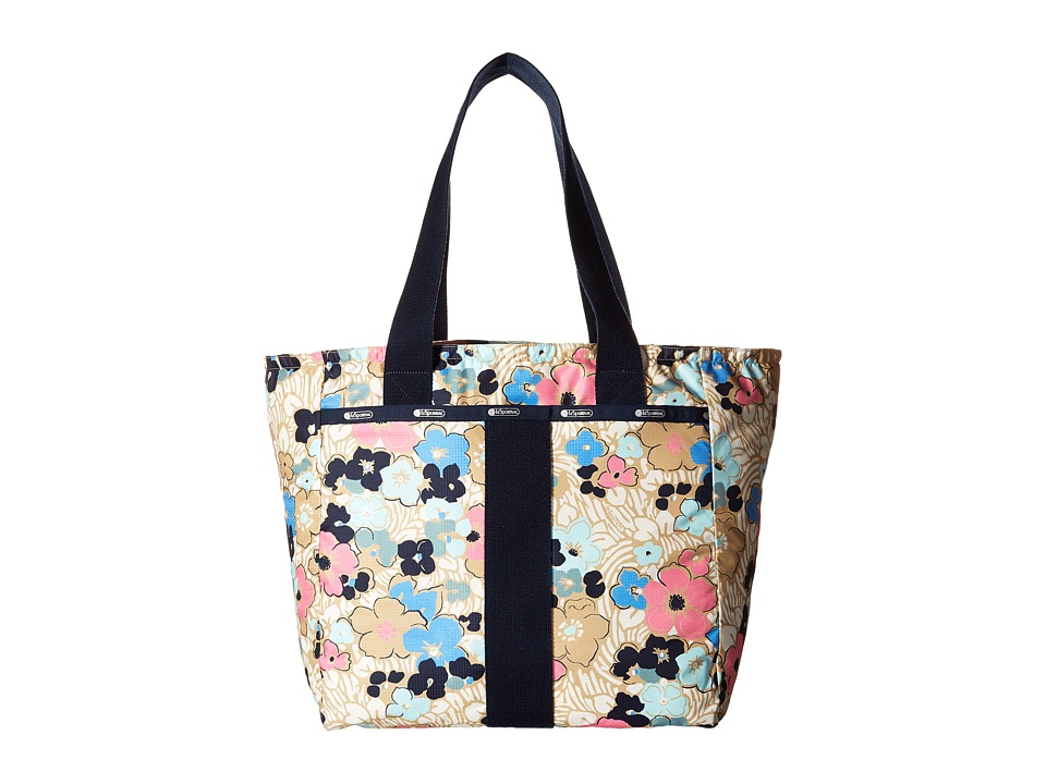 LeSportsac - Everyday Tote (Ocean Blooms) Tote Handbags