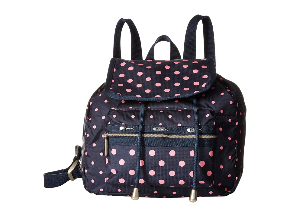 LeSportsac - Mini Voyager (Sun Multi Pink) Handbags