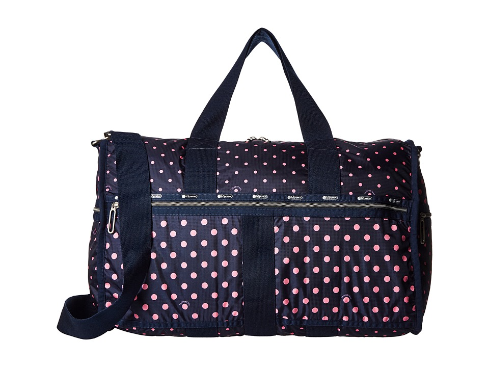 LeSportsac Luggage - CR Large Weekender (Sun Multi Pink) Weekender/Overnight Luggage