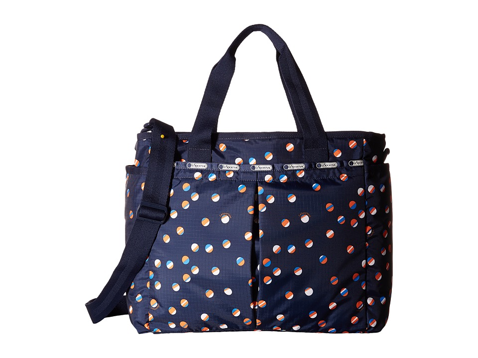 LeSportsac - Ryan Baby Bag (Beach Ball Play Navy) Diaper Bags