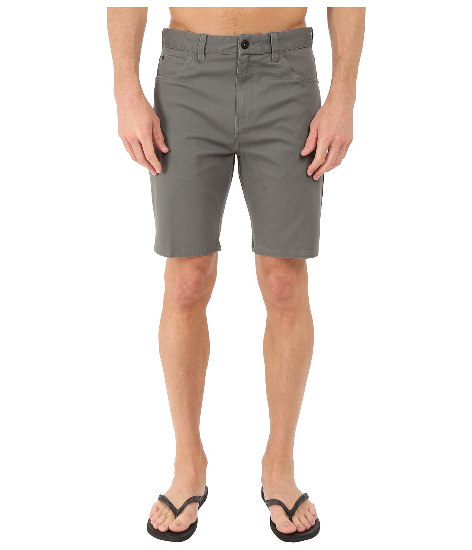 Tavik - Thesis Walkshorts (Gunmetal) Men's Shorts