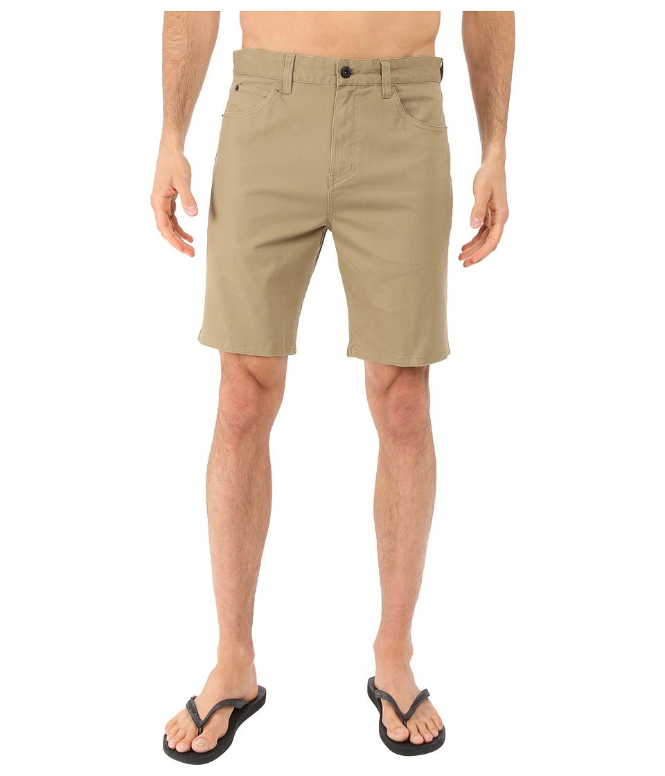 Tavik - Thesis Walkshorts (Tobacco) Men's Shorts