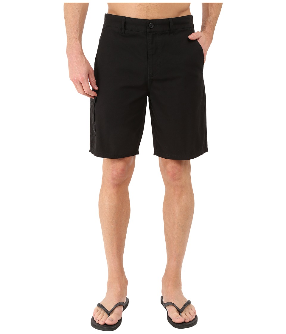 Tavik - Freighter Walkshorts (Black) Men's Shorts