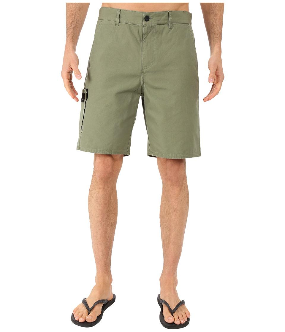 Tavik - Freighter Walkshorts (Military Green) Men's Shorts