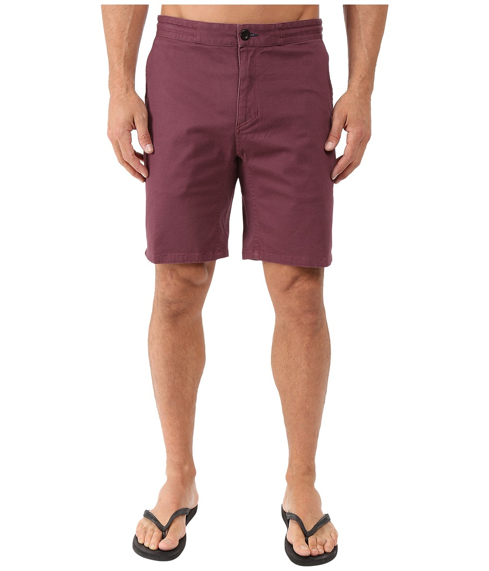 Tavik - Campton Walkshorts (Wine) Men's Shorts