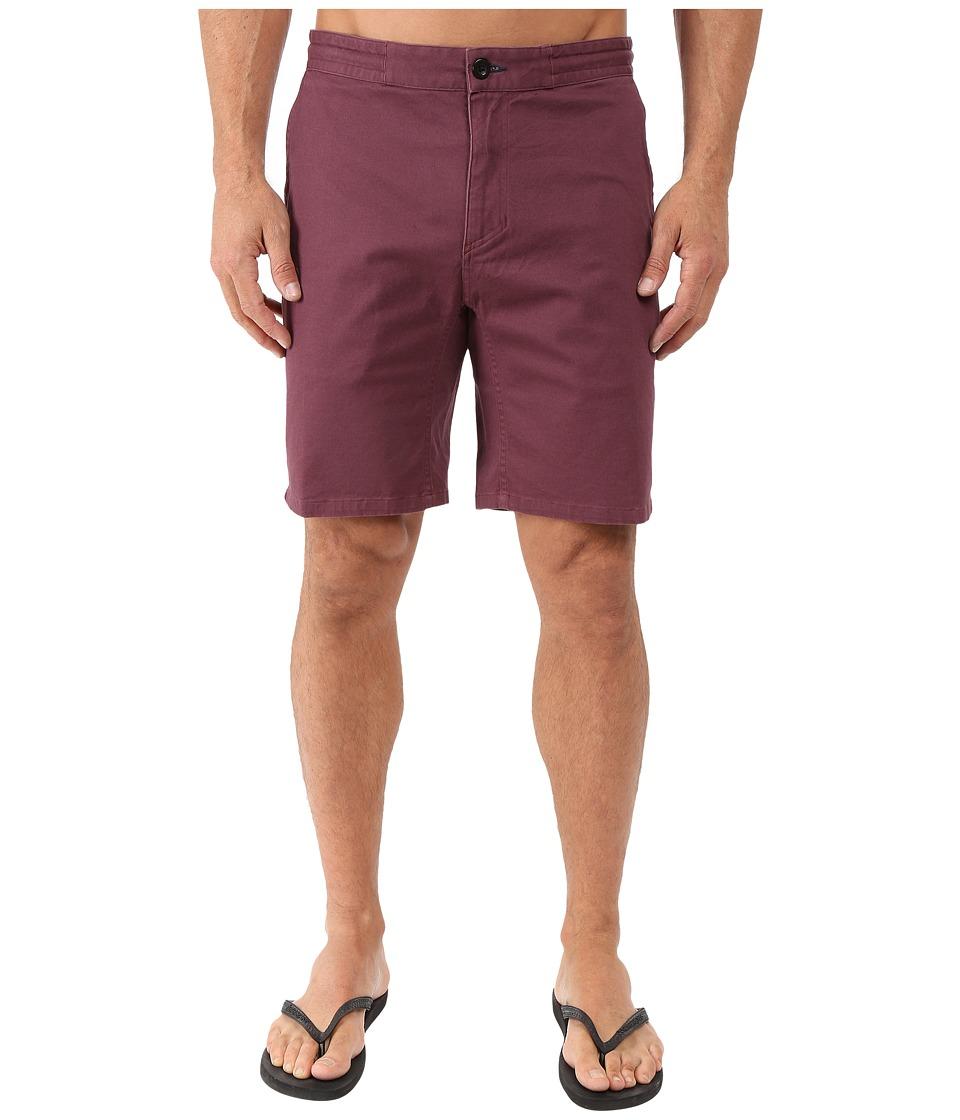Tavik - Campton Walkshorts (Wine) Men's Shorts
