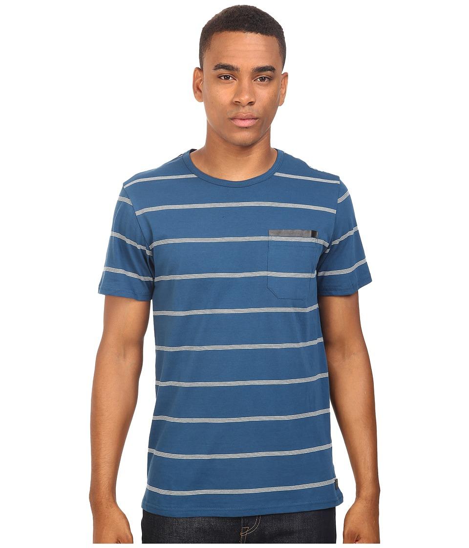 Tavik - Tracer Short Sleeve Knit (Blue) Men's Short Sleeve Knit