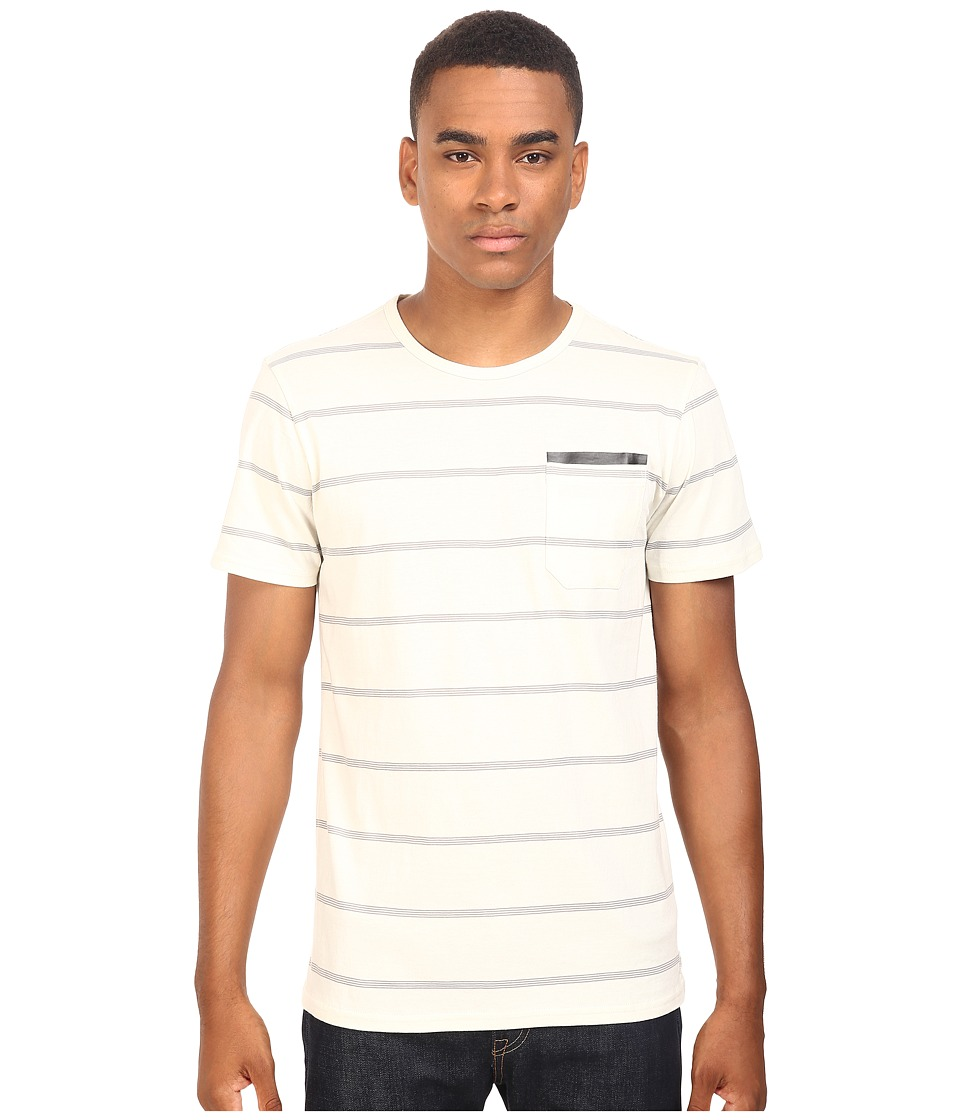 Tavik - Tracer Short Sleeve Knit (Bone) Men's Short Sleeve Knit