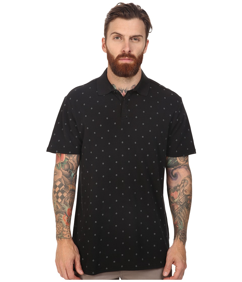 Tavik - Osaka Polo (Black Dot) Men's Clothing
