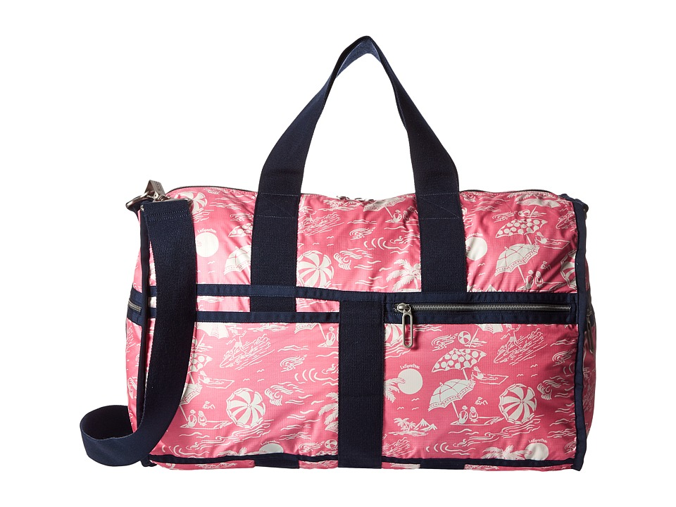 LeSportsac Luggage - CR Large Weekender (Hawaiian Getaway Pink) Weekender/Overnight Luggage