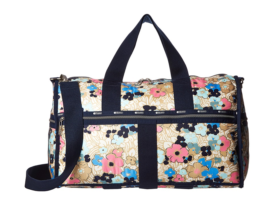 LeSportsac Luggage - CR Large Weekender (Ocean Blooms) Weekender/Overnight Luggage