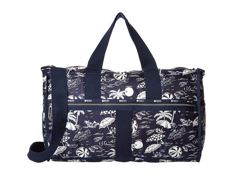 LeSportsac Luggage - CR Large Weekender (Hawaiian Getaway) Weekender/Overnight Luggage