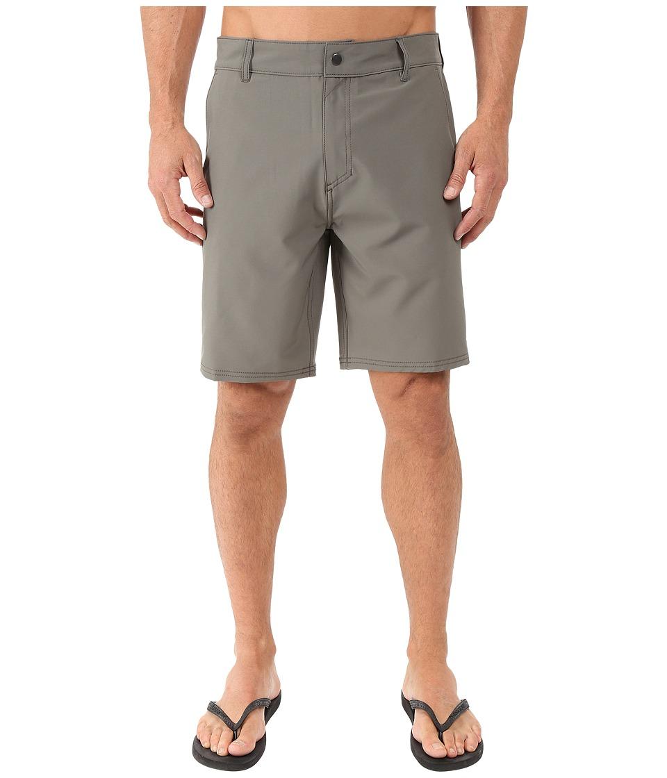 Tavik - Zero II Hybrid Boardshorts (Gunmetal) Men's Swimwear