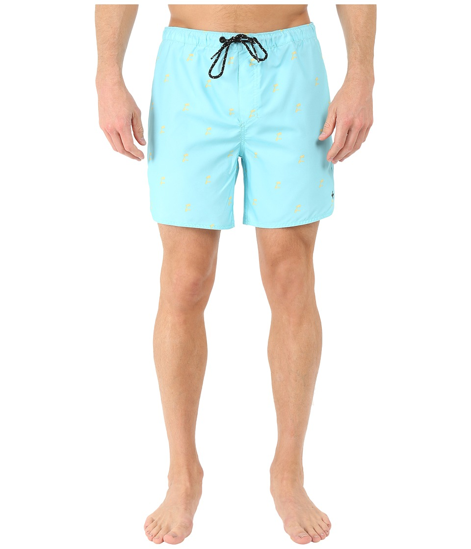 Tavik - Structure Boardshorts (Aqua) Men's Swimwear