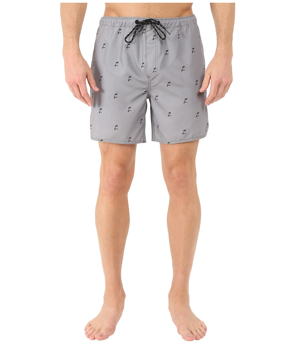 Tavik - Structure Boardshorts (Grey) Men's Swimwear
