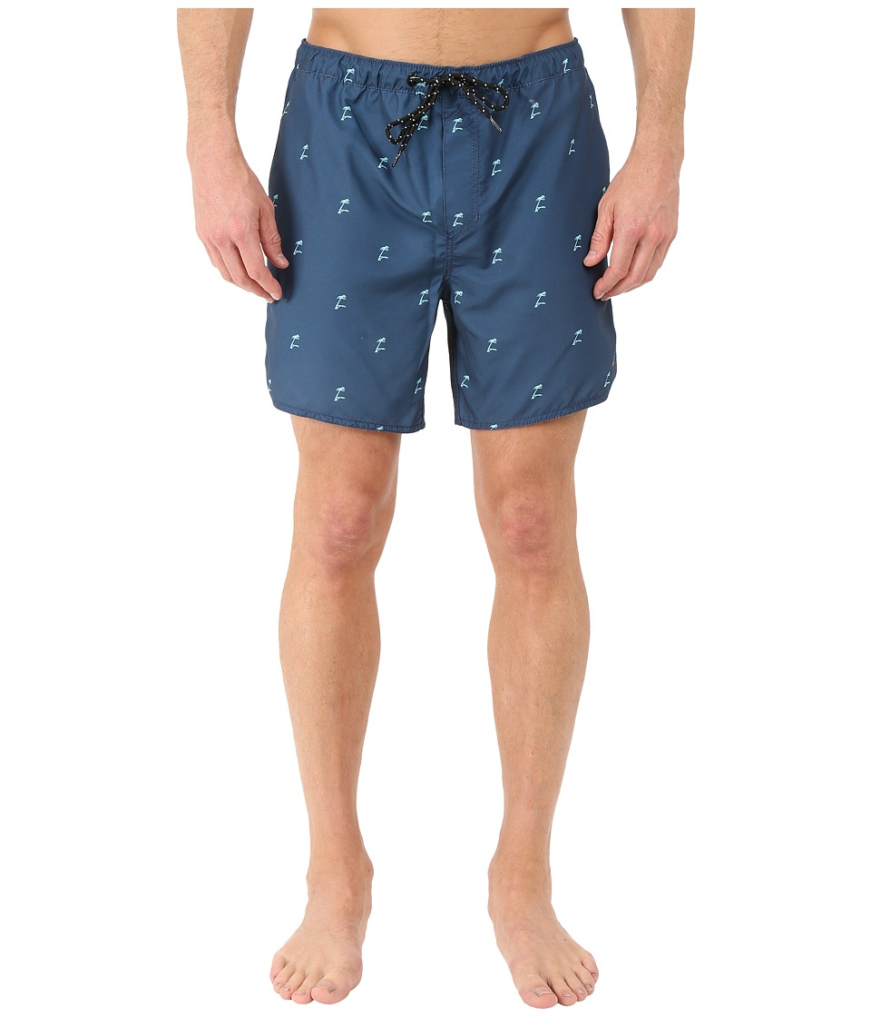 Tavik - Structure Boardshorts (Nightshade Blue) Men's Swimwear