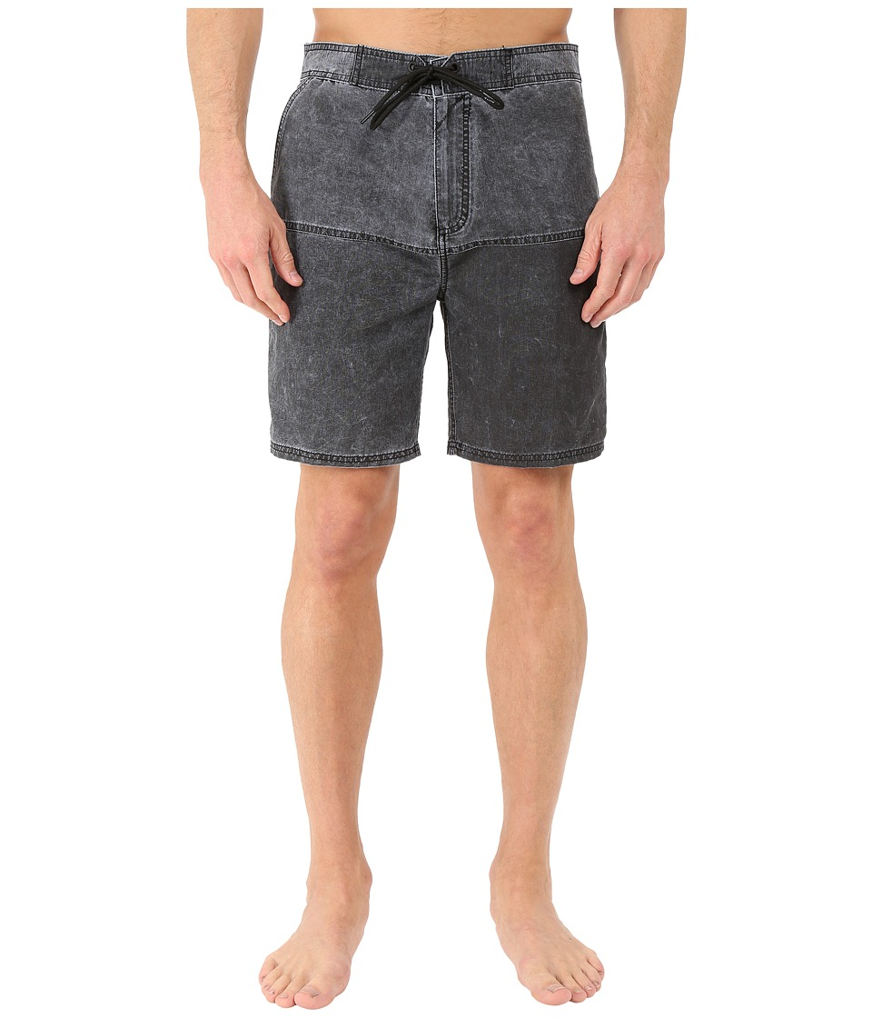 Tavik - Rico Boardshorts (Jet Black) Men's Swimwear