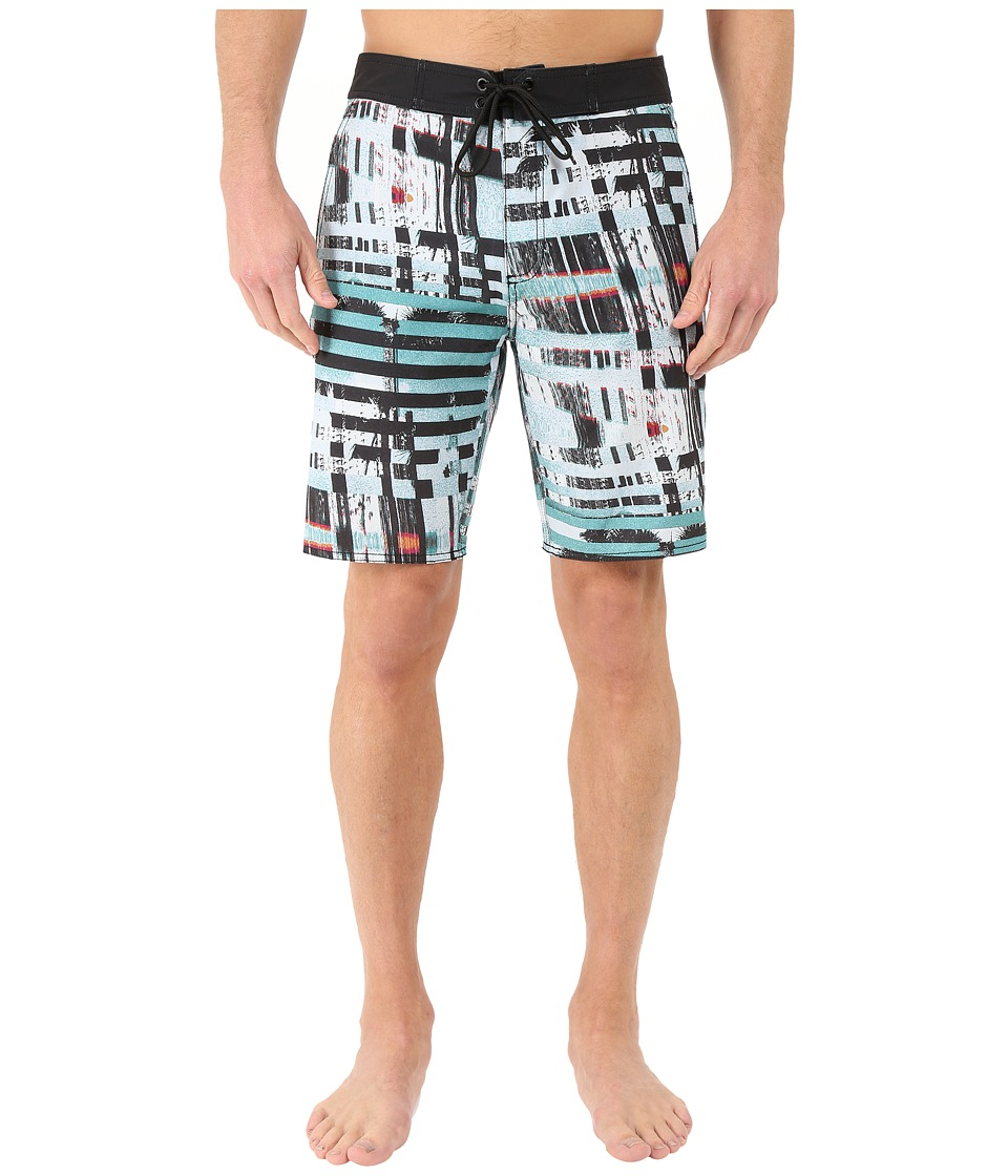 Tavik - Blade Boardshorts (Blue) Men's Swimwear