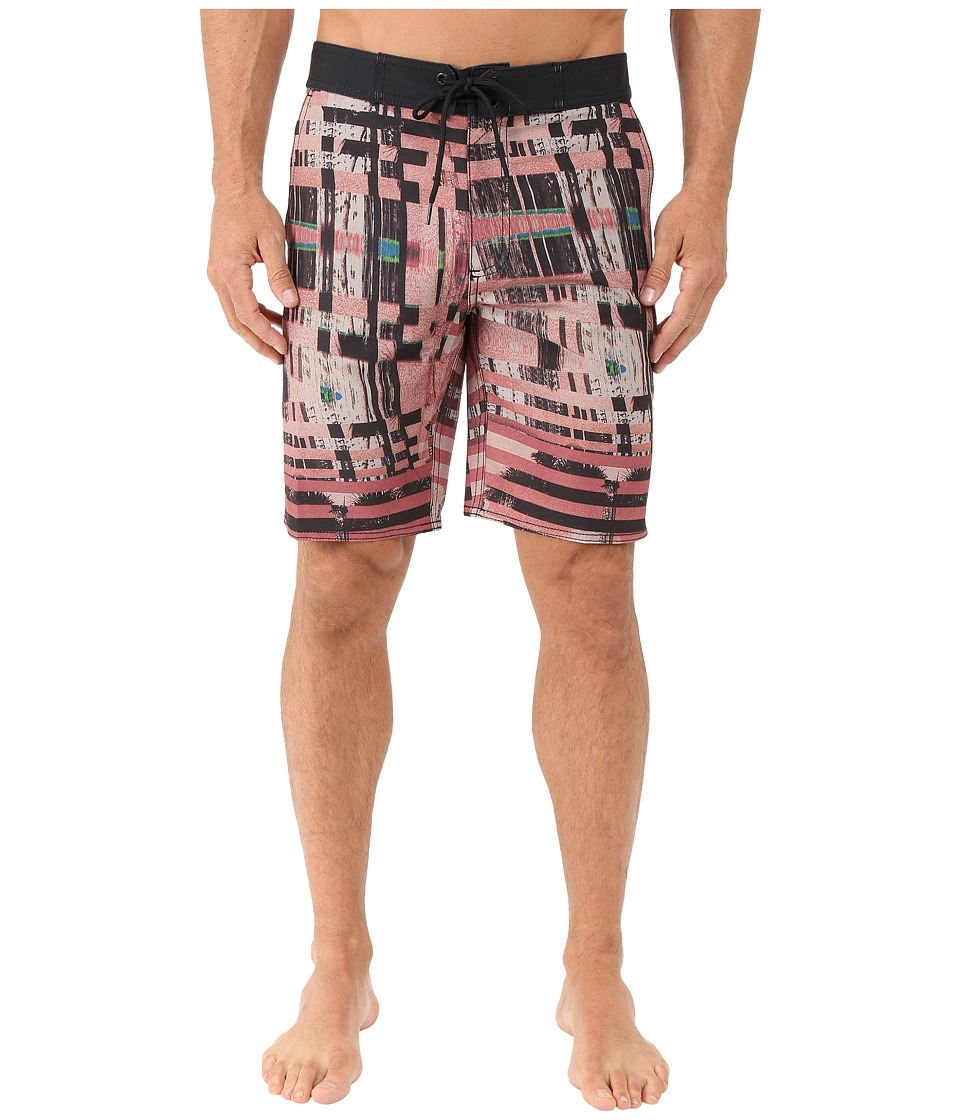 Tavik - Blade Boardshorts (Red) Men's Swimwear