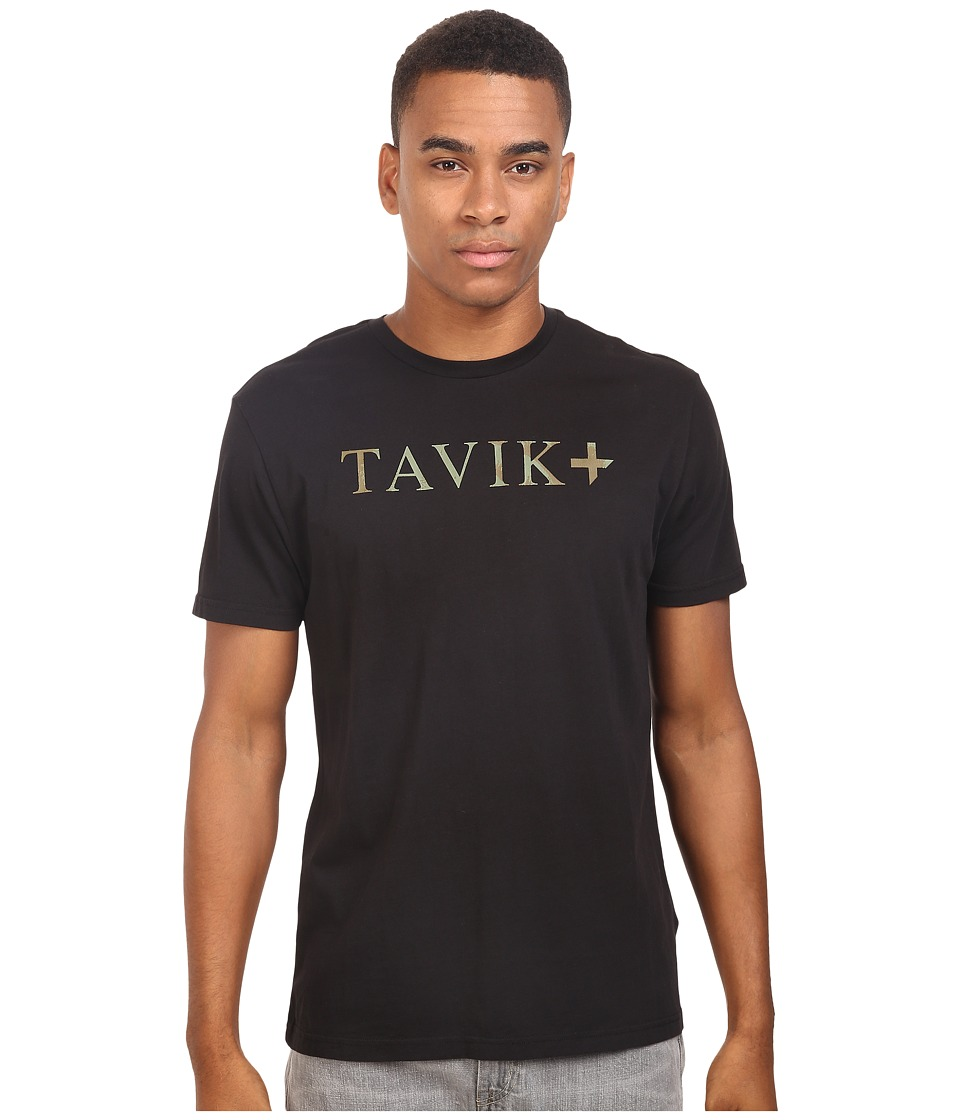 Tavik - Essential Short Sleeve T-Shirt (Black) Men's T Shirt