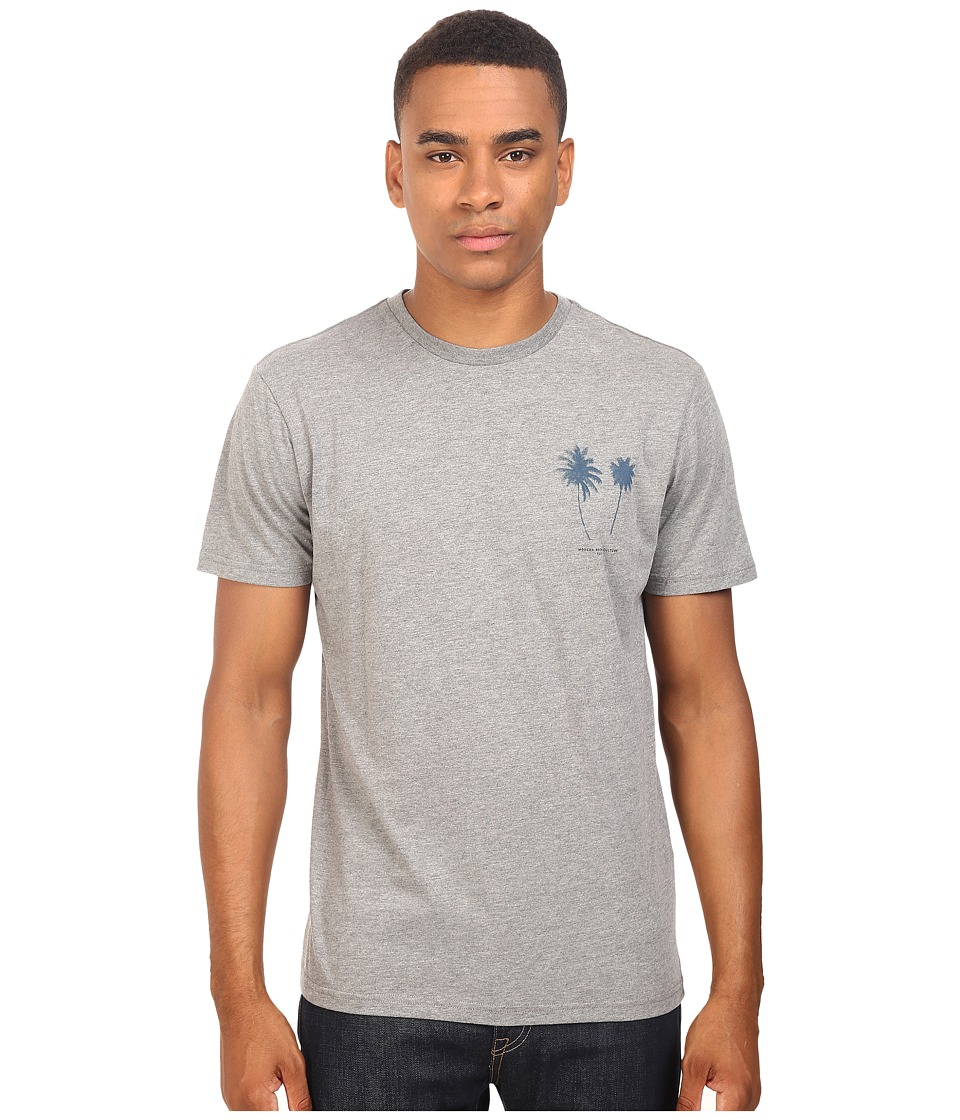 Tavik - Two Short Sleeve T-Shirt (Heather Grey) Men's T Shirt
