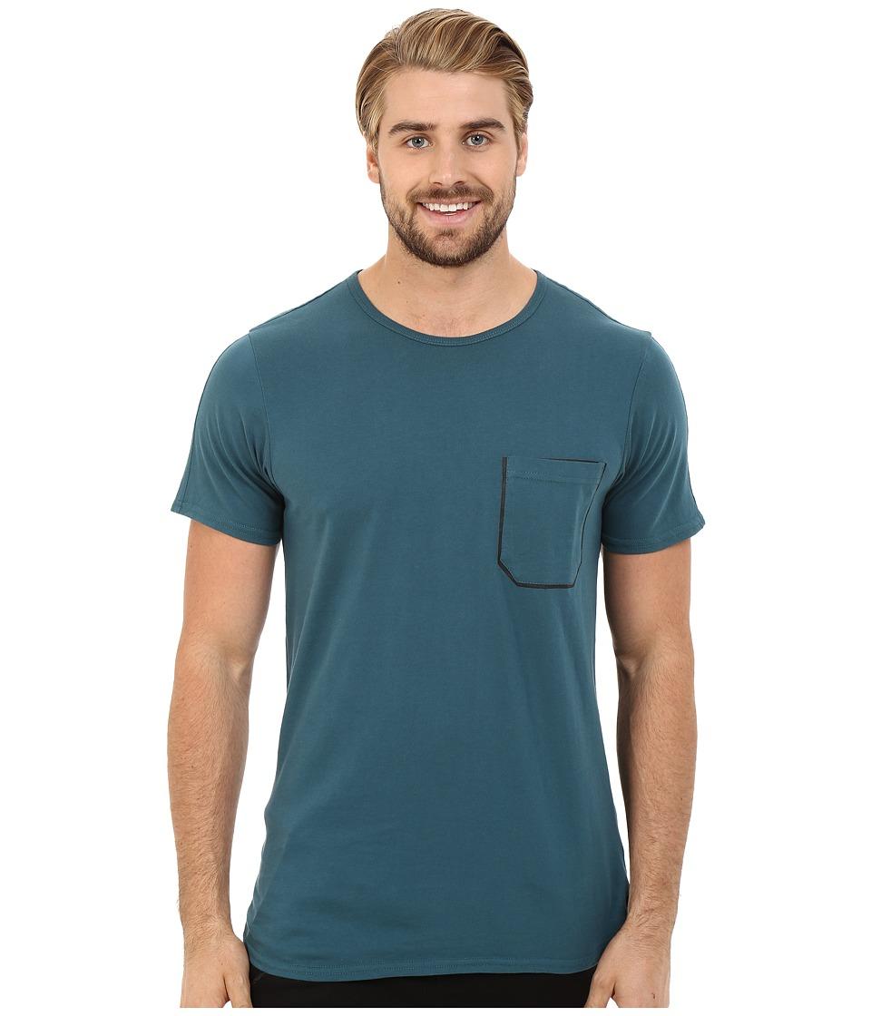 Tavik - Academy Short Sleeve Knit (Green) Men's Short Sleeve Pullover