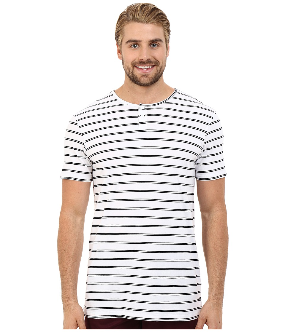Tavik - Striker Short Sleeve Knit (White) Men's Short Sleeve Pullover