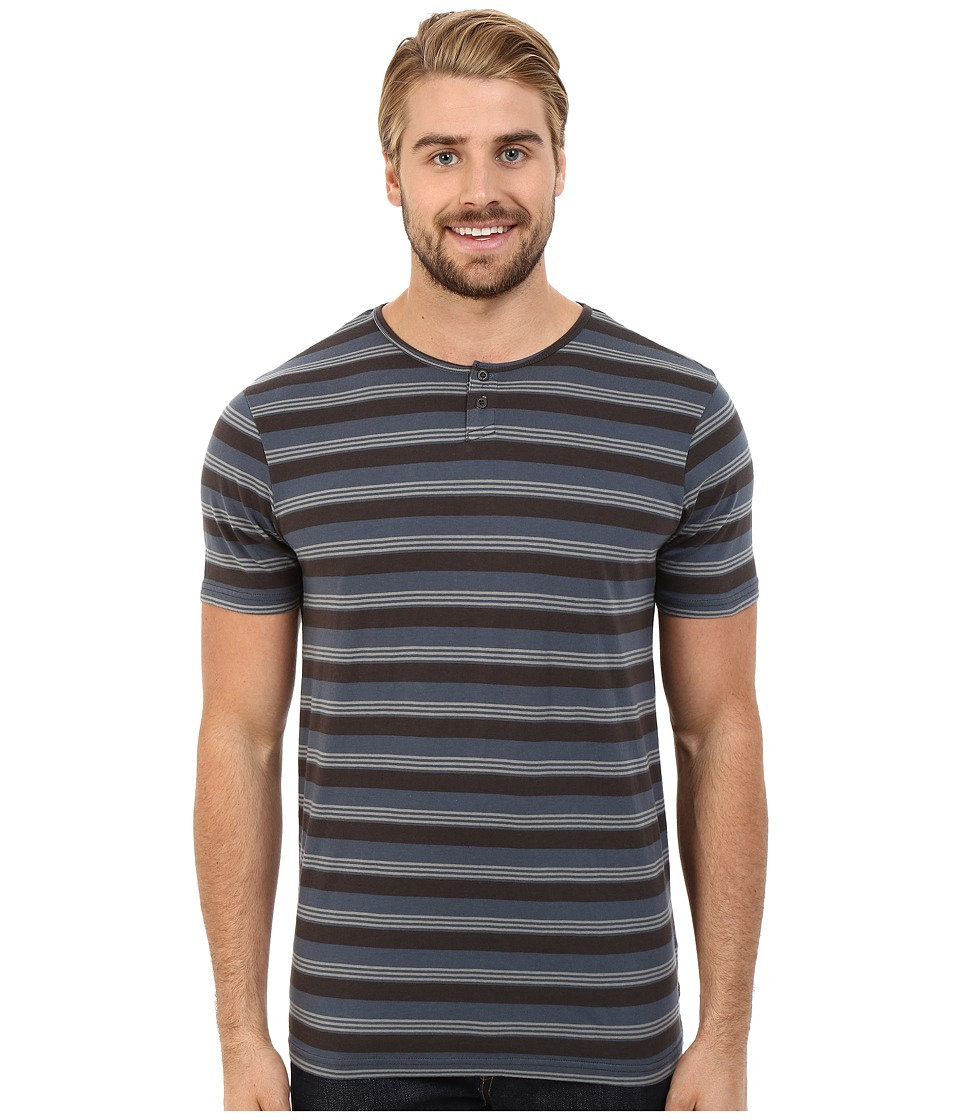 Tavik - Striker Short Sleeve Knit (Concrete) Men's Short Sleeve Pullover