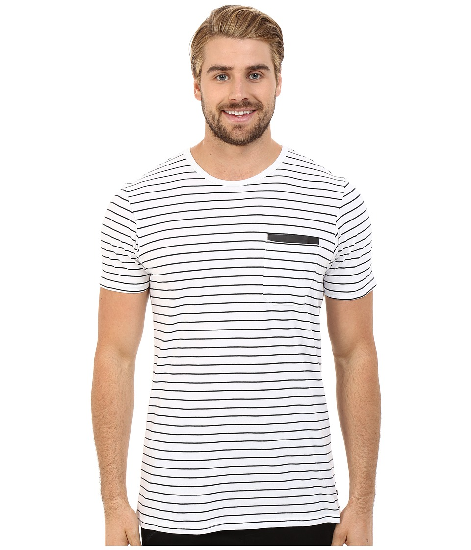 Tavik - Tracer Short Sleeve Knit (Optic White) Men's Short Sleeve Pullover