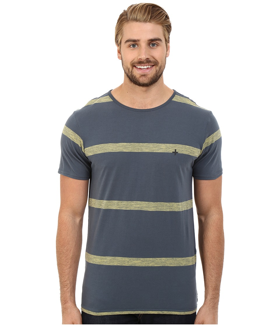 Tavik - Hauser Knit (Concrete) Men's Short Sleeve Pullover