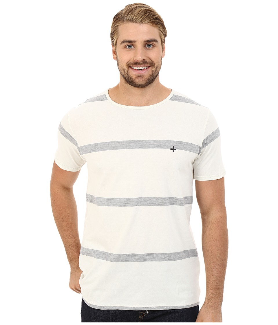 Tavik - Hauser Knit (Bone) Men's Short Sleeve Pullover