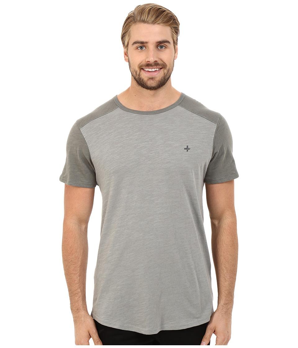 Tavik - Boggs Short Sleeve Knit (Grey) Men's Short Sleeve Pullover