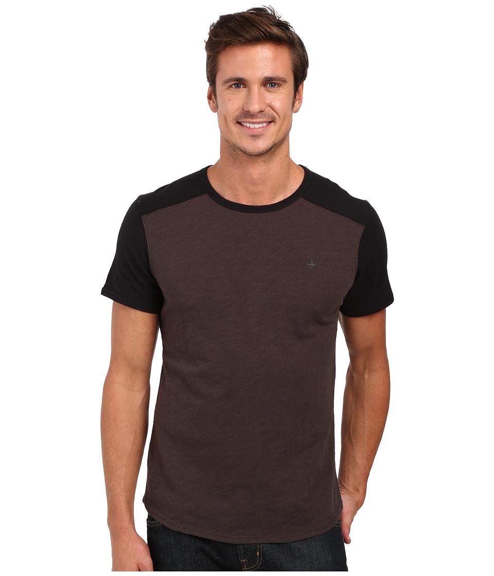Tavik - Boggs Short Sleeve Knit (Raven) Men's Short Sleeve Pullover