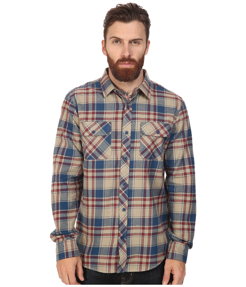 Tavik - Vincent (Clay) Men's Long Sleeve Button Up