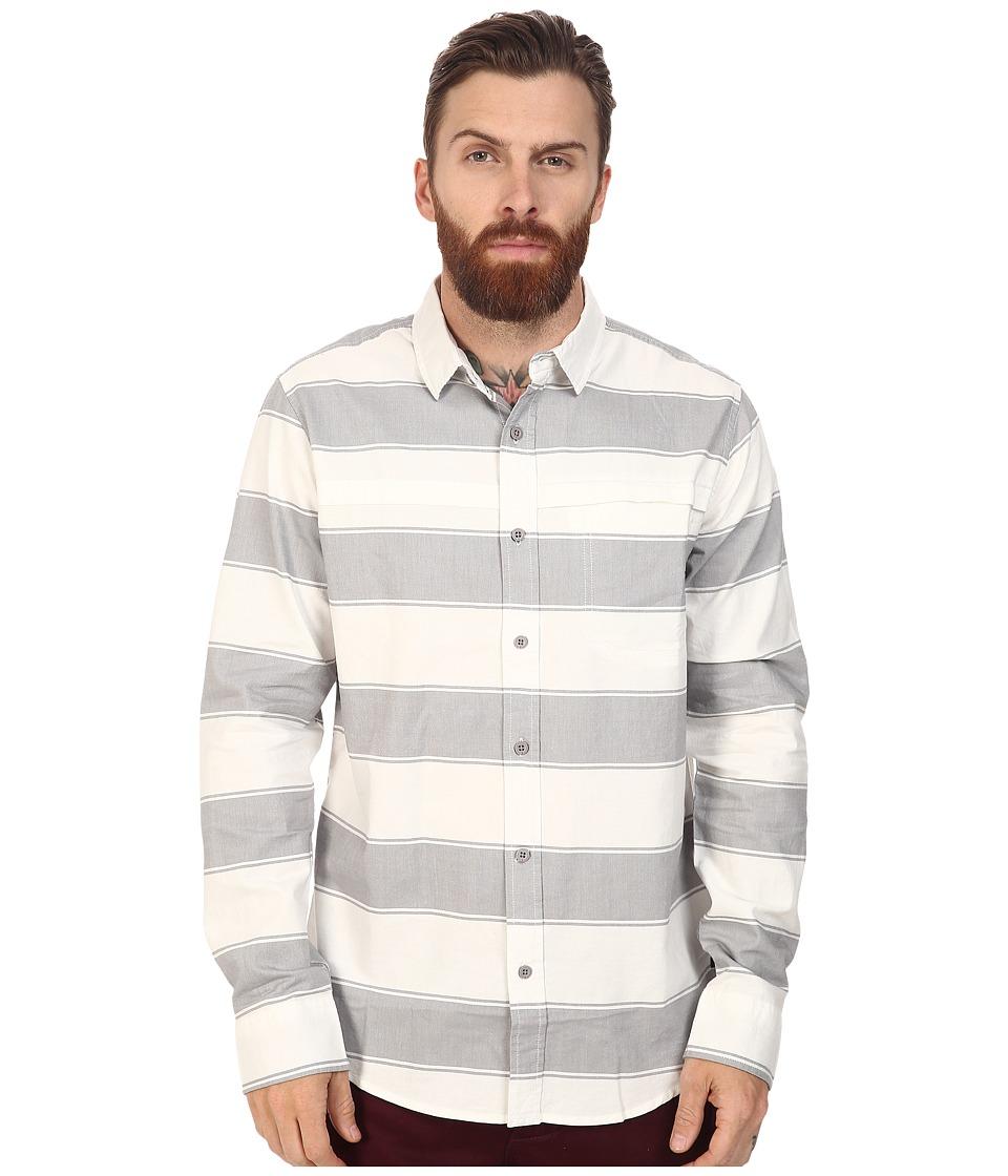 Tavik Shin Long Sleeve (White/Light Grey) Men