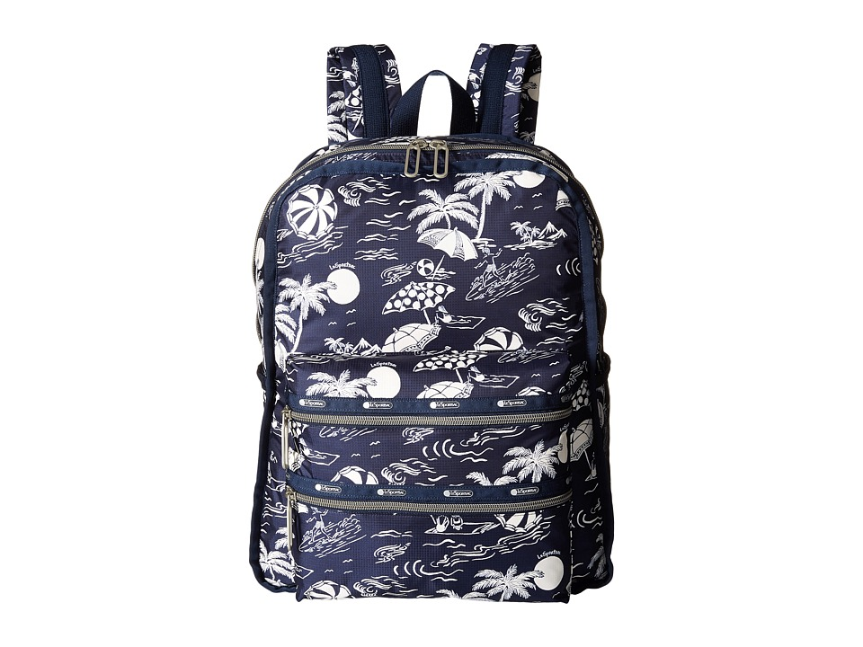 LeSportsac - Functional Backpack (Hawaiian Getaway) Backpack Bags
