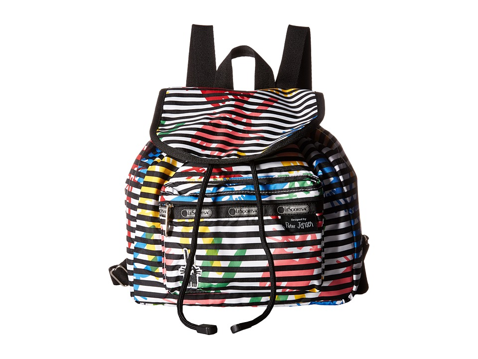 LeSportsac - Small Edie Backpack (Jeffrey) Backpack Bags