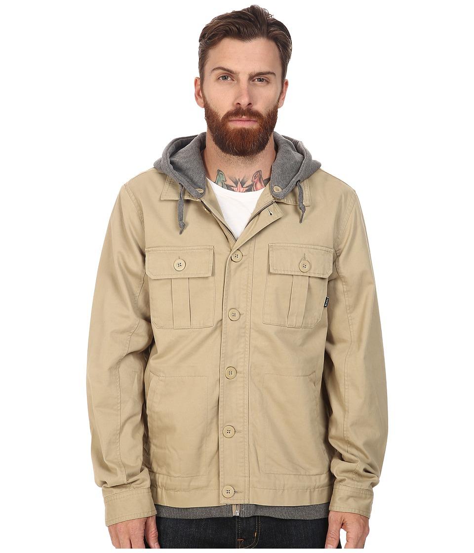 Tavik - Droogs (Khaki/Heather Grey) Men's Coat
