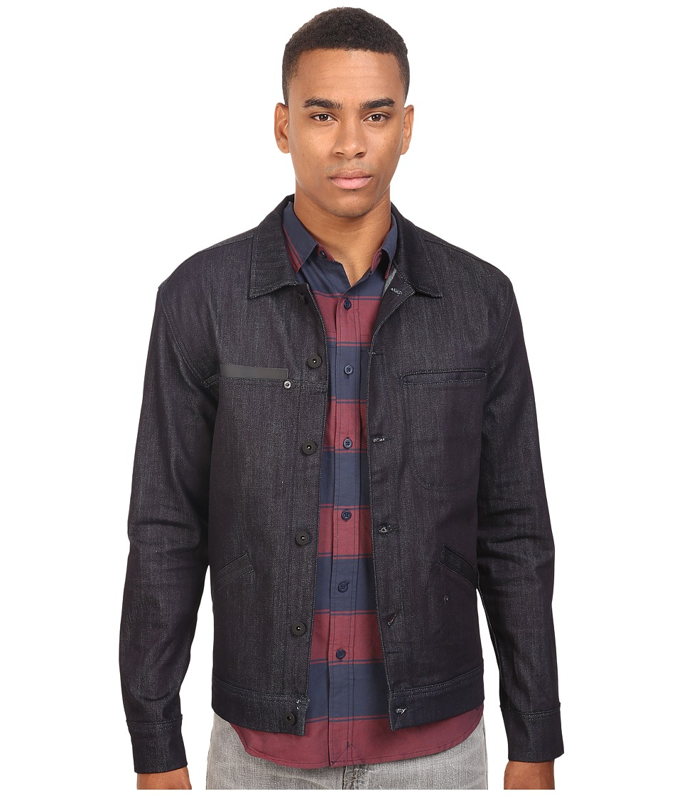 Tavik - Sutter Denim Jacket (Indigo) Men's Coat