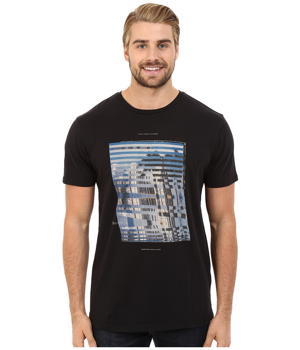 Tavik - Enigma Printed Tee (Black) Men's T Shirt