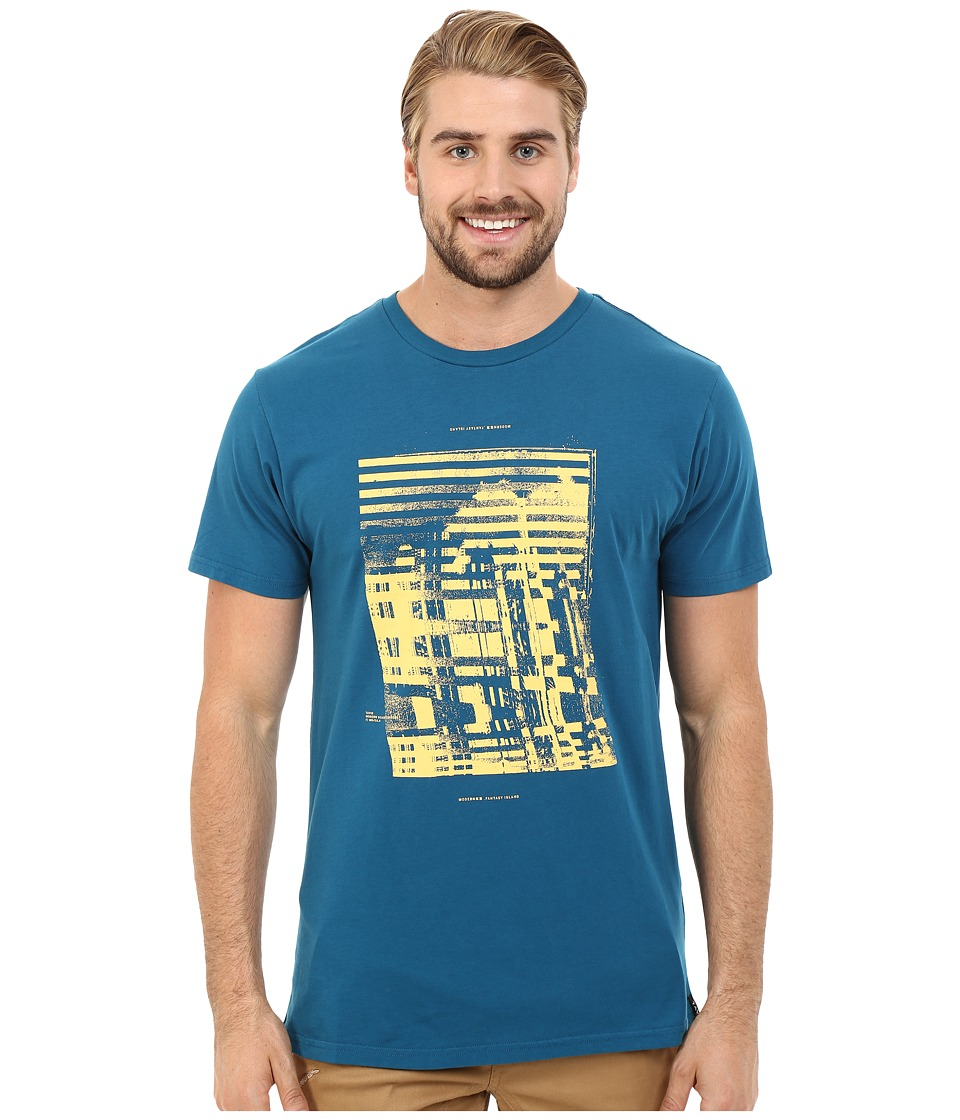 Tavik - Enigma Printed Tee (Blue) Men's T Shirt