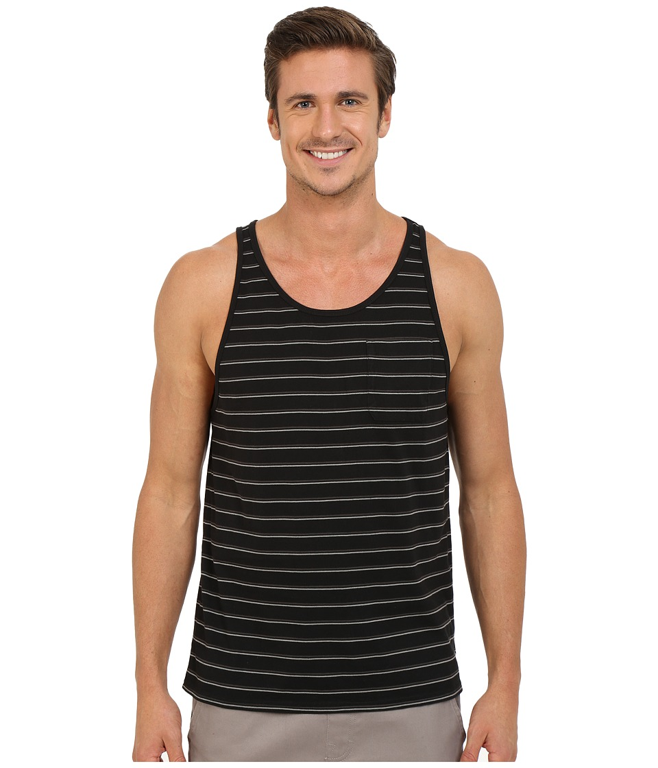 Tavik - Coda Knit Tank Top (Jet Black) Men's Sleeveless
